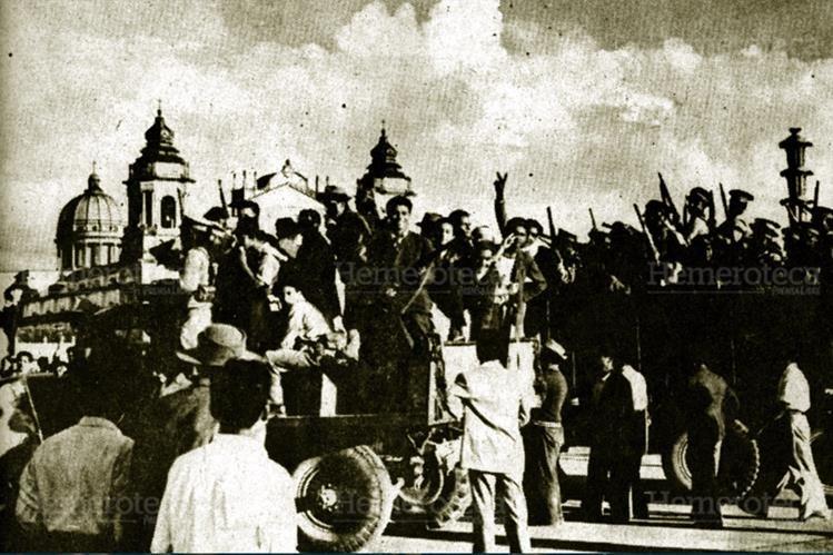 Revolución de Octubre de 1944, un cambio radical en el historia del país. (Foto: Hemeroteca PL)