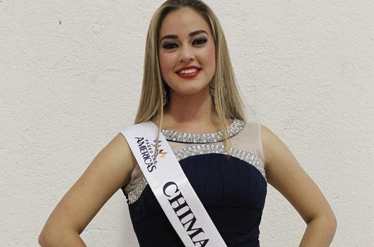 Chimaltenango es representado por Merelin Cifuentes