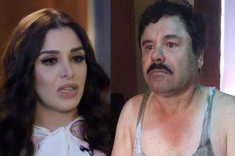 """Emma Coronel, pareja de Joaquín """"el Chapo"""" Guzmán."""