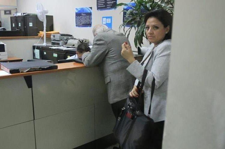Exvicecanciller Sara Erica Jovel Polanco paga Q10 mil para evitar ir a prisión preventiva. (Foto Prensa Libre: Hemeroteca PL)