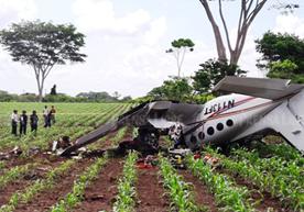 Avioneta había partido del aeropuerto La Aurora y se estrelló en Génova.