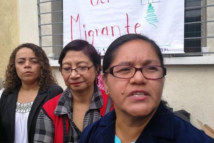 Dunia Montoya, esposa del periodista hondureño Bartolo Fuentes. (Foto Prensa Libre: Érick Ávila)