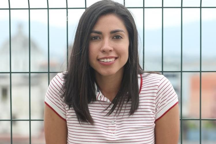 La guatemalteca Ana Lucía Martínez se declaró lista para su nuevo desafío en el futbol español. (Foto Prensa Libre: Francisco Sánchez)