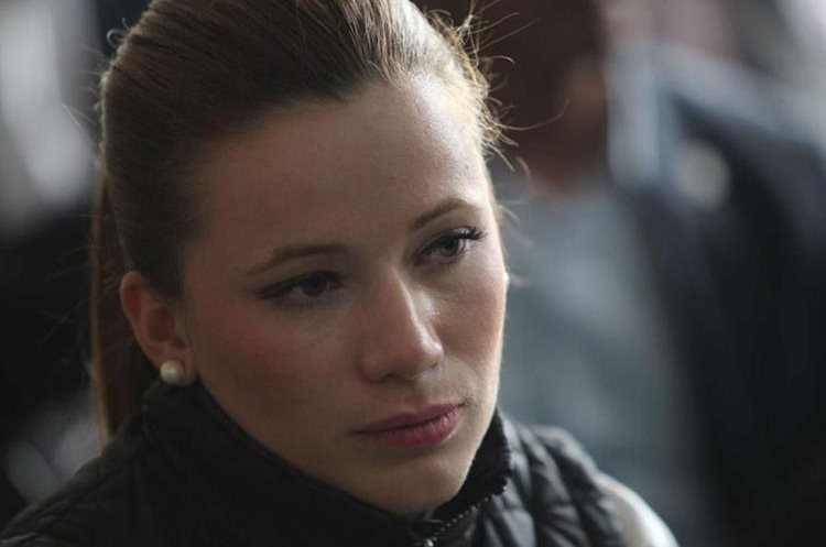 Daniela Beltranena fue asistente de Roxana Baldetti en la Vicepresidencia de la República. (Foto Prensa Libre: Hemeroteca PL)