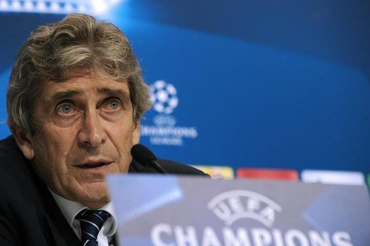 Pellegrini confía en que el Manchester City saque un buen resultado ante el Sevilla. (Foto Prensa Libre: AP)