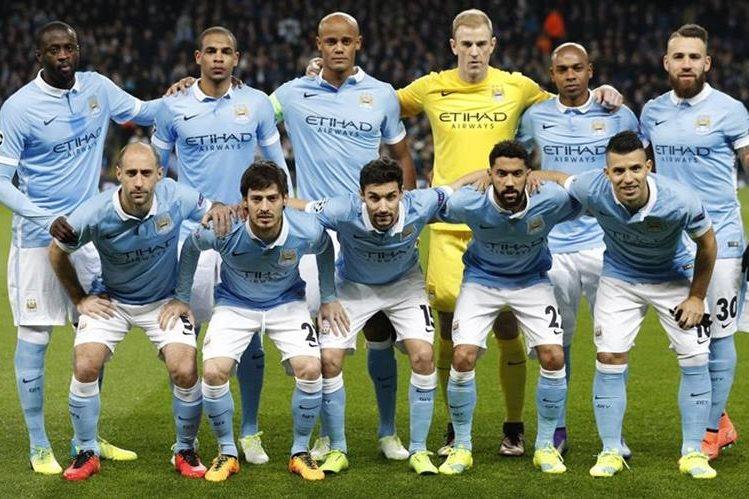 El City avanzó a cuartos de final por primera vez en su historia. (Foto Prensa Libre: AP)