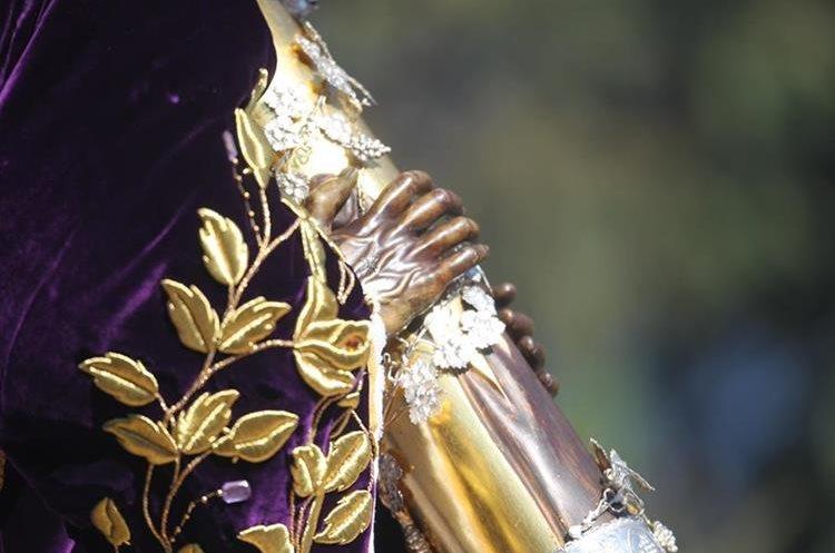 La imagen de Jesús de Candelaria tiene más de 450 años de salir en procesión.