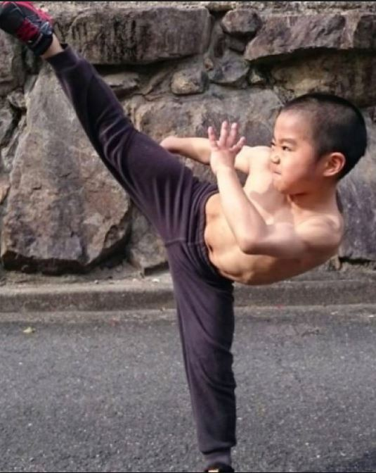 Ryusei comenzó a entrenar en las artes marciales cuando tenía apenas cuatro años. (Foto Prensa Libre: Ryusei Imai/Facebook)