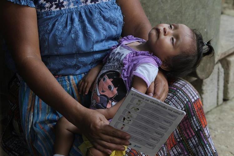 De 11 pasan a cuatro los componentes del Pacto Hambre Cero para reducir ese problema grave en niños. (Foto Prensa Libre: Hemeroteca PL)