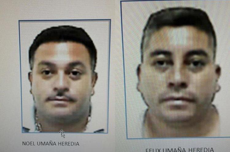 Los hermanos Noel y Félix Umaña Heredia, sentenciados por ataque contra el alcalde de Concepción Las Minas. (Foto Prensa Libre: Cortesía)