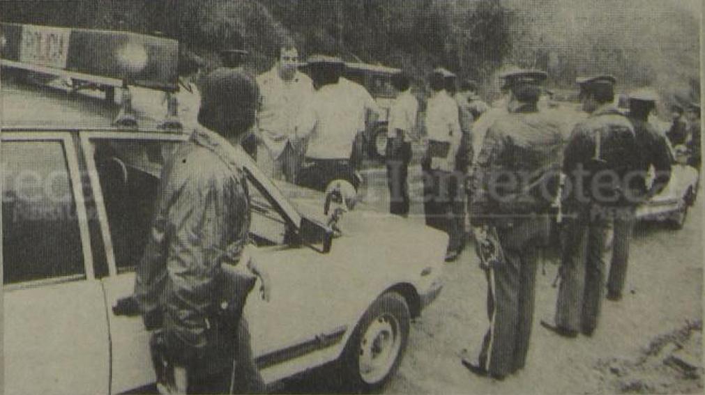 11/03/1988 Guardias de Hacienda son capturados dentro de la Panel Blanca  en ruta a El Salvador. (Foto: Hemeroteca PL)