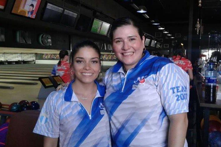 Las atletas nacionales Laura Barrios y Sofía Rodríguez se coronaron en Madrid. (Foto COG).