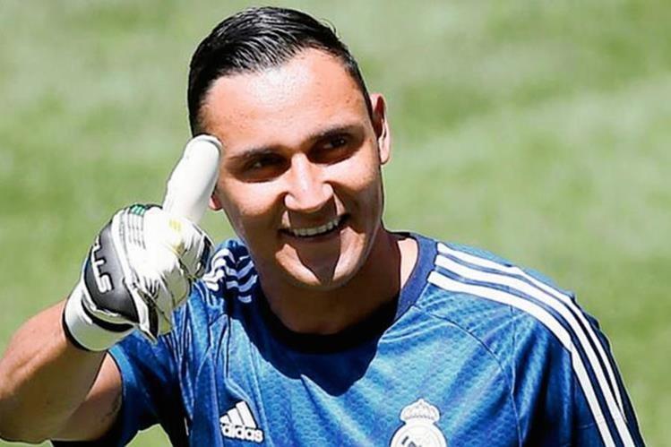El portero costarricense se siente preparado para regresar al Real Madrid a pesar de su lesión. (Foto Prensa Libre: Hemeroteca PL)
