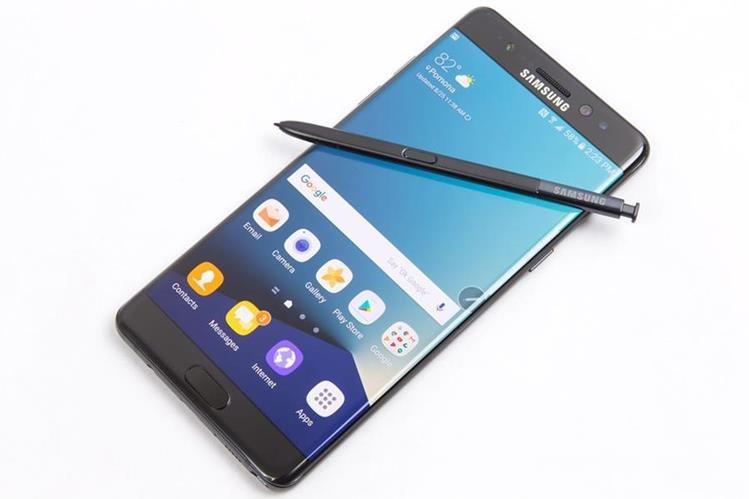 La phablet Galaxy Note 7 salió al mercado en septiembre del 2016 y fue descontinuado dos meses después. (Foto: Hemeroteca PL).
