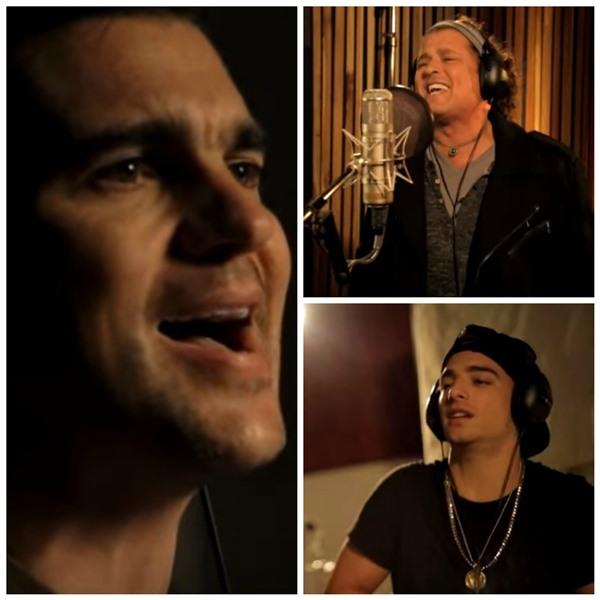 Juanes, Carlos Vives y Maluma, junto a otros artistas colombianos, interpretan tema por la Paz de Colombia. (Foto Prensa Libre: YouTube)