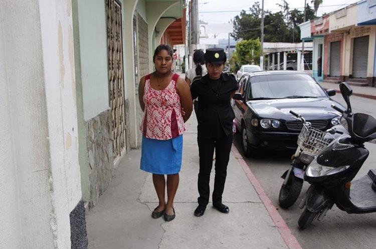 Santos Jiménez Cruz pretendía ingresar marihuana a la cárcel de Jalapa. (Foto Prensa Libre: Hugo Oliva)