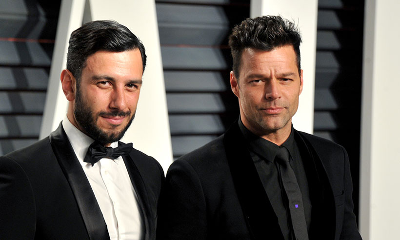 Ricky Martin y Jwan Yosef han estado comprometidos desde el año pasado y esperan realizar su boda en la primavera del próximo año. (Foto Prensa Libre: Hello Magazine).