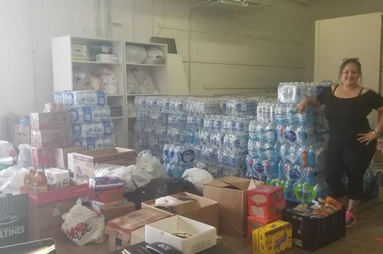 Productos que han sido recolectados por los migrantes en Estados Unidos. (Foto Prensa Libre: Raquel Palomo)