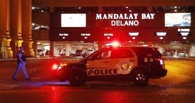 El pasado domingo ocurrió una balacera en el festival de música country cerca del hotel Mandalay Bay en Las Vegas, Estados Unidos.(Foto Prensa Libre: EFE)