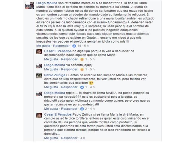 Diversas opiniones generó la disculpa pública que la dueña de la tienda virtual tuvo que hacer por el nombre del negocio. (Foto Prensa Libre: Facebook)