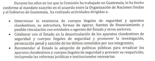 Fragmento de la carta enviada por la PDH al secretario de la ONU, António Guterres. (Foto Prensa Libre: PDH)