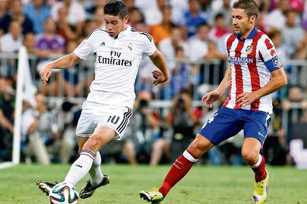 Para Gabi (derecha) el derbi español es uno de los partidos más esperados y esperan ganar al Real Madrid. (Foto Prensa Libre: Hemeroteca PL)