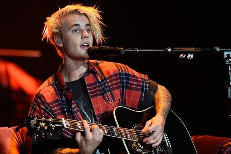 Justin Bieber durante el concierto en Oregon. (Foto Prensa Libre: Hemeroteca PL).