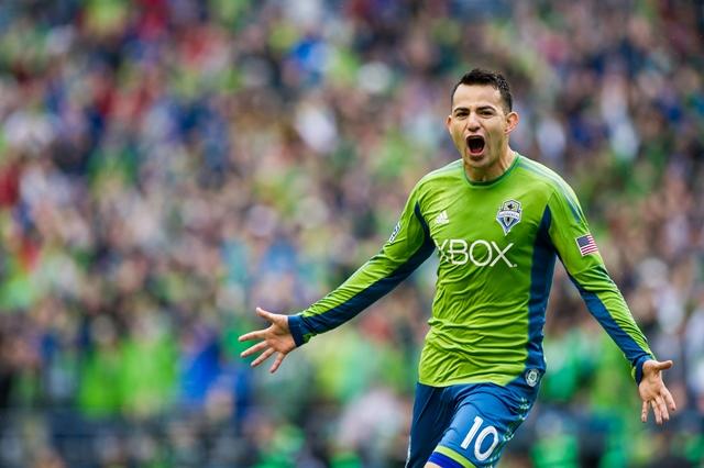 Marco Pappa consiguió un gol en el triunfo del Seattle Sounders. (Foto Prensa Libre: Hemeroteca PL)