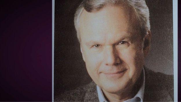 Esta imagen estaba en el perfil de John Porter, pero la policía cree que fue robado