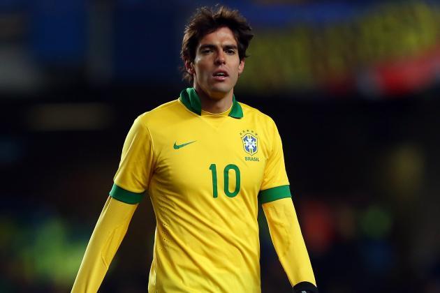 El mediocampista Kaká espera ser convocado a la Selección de Brasil. (Foto Prensa Libre: Hemeroteca).