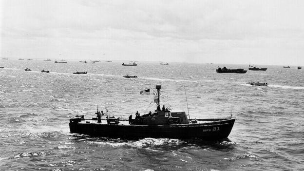 La misión de Pujol era enviar información falsa a los nazis, principalmente vinculada a la batalla de Normandía. GETTY IMAGES