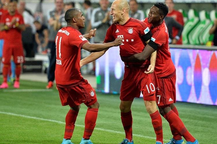 Arjen Robben es pieza fundamental en el Bayern. (Foto Prensa Libre: Hemeroteca)