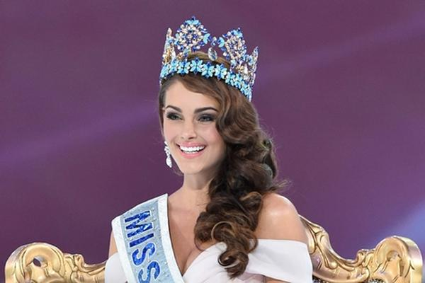 <p>Rolene Strauss, Miss Mundo 2014.</p>