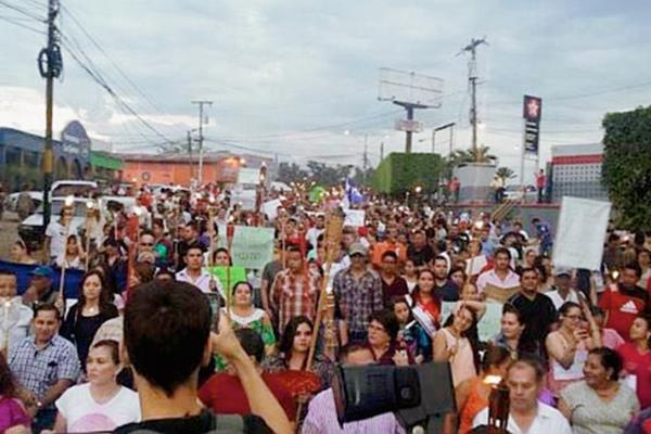 Una ola de protestas sin precedentes se ha vivido en Honduras debido a un escándalo de corrupción en el Seguro Social que implica al partido del gobernante Juan Orlando Hernández. (Foto Prensa Libre: Internet).