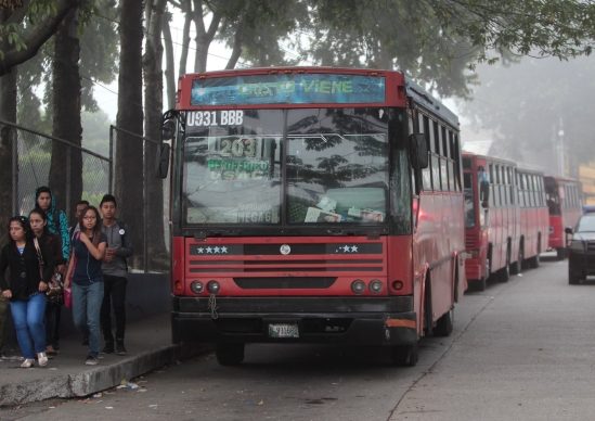 La PDH dice que existe opacidad en la entrega del subsidio al transporte urbano en el municipio de Guatemala. (Foto Prensa Libre: Hemeroteca PL)