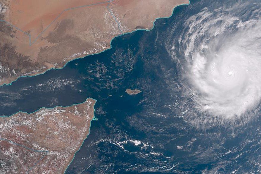 Imagen satelital muestra fuerza de fenómeno.