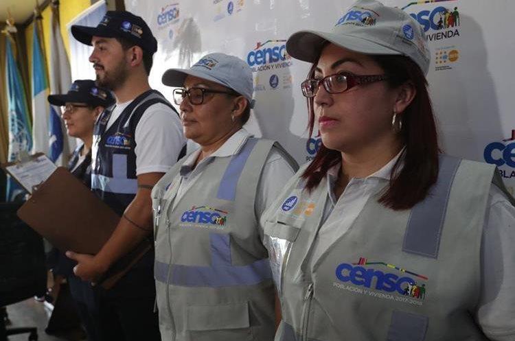 El INE indicó que ya tenía todo listo para recolectar los datos para el censo. (Foto Prensa Libre: Estuardo Paredes)