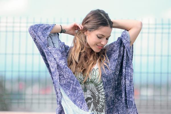 La cantautora costarricense Debi Nova promociona el tema Cupido, éxito con varias versiones que incluye en su álbum Soy. (Foto Prensa Libre: Keneth Cruz)