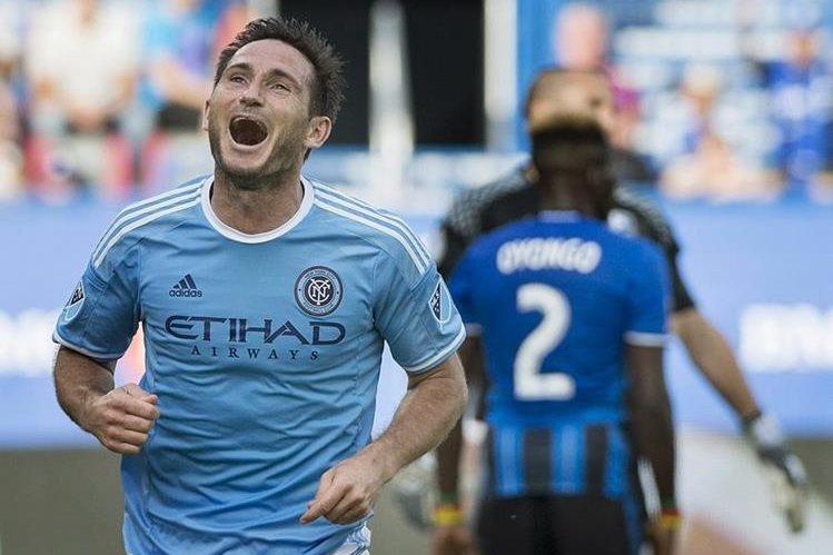 Frank Lampard con un doblete guió la victoria del New York City. (Foto Prensa Libre: Hemeroteca PL)