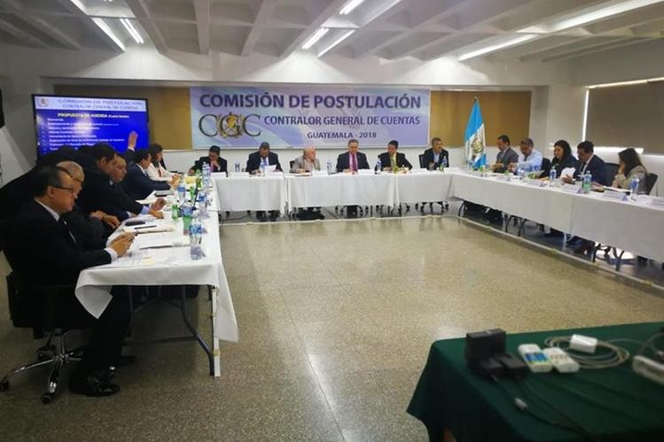 Comisión de Postulación empieza con la integración de seis profesionales a la nómina que debe ser enviada al Congreso. (Foto Prensa Libre: Hemeroteca PL)