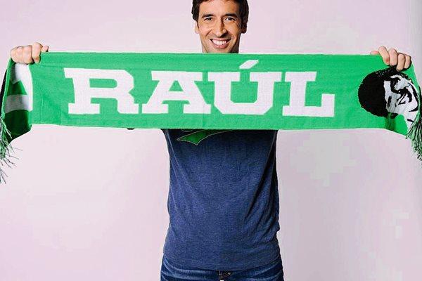 Raúl González disfruta su nueva etapa en el futbol estadounidense. (Foto Prensa Libre: Cosmos NY).