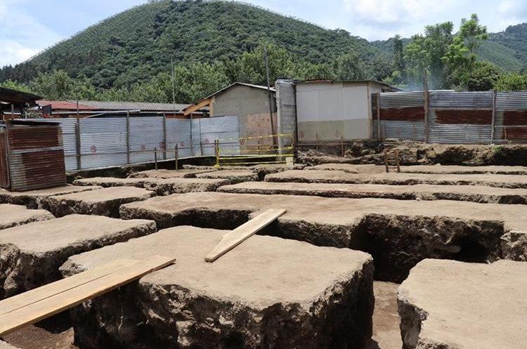 Vista del predio donde se efectuaron las exhumaciones. (Foto: Carlos García)