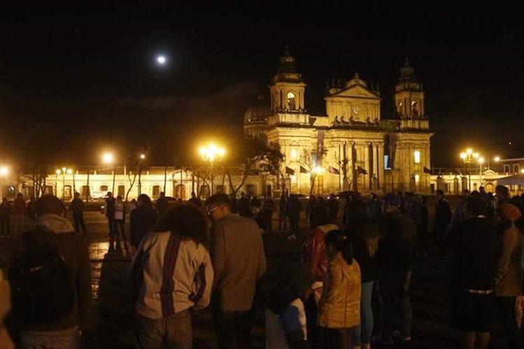 Una de las actividades anteriores en la que ciudadanos han aportado ideas para tener un mejor país. (Foto Prensa Libre: Cortesía Techo Guatemala).