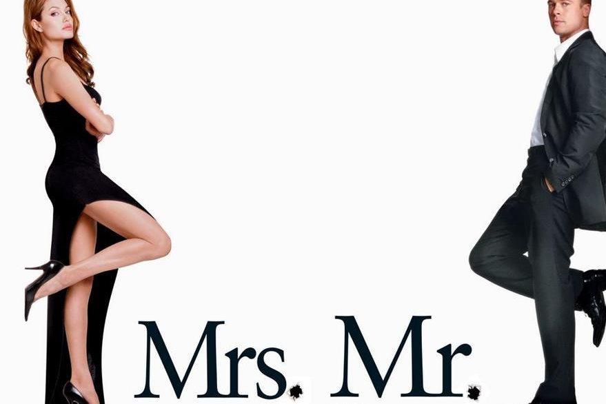 Sr y Sra. Smith filme que unió a la pareja Pitt y Jolie. (Foto Prensa Libre: Hemeroteca PL)