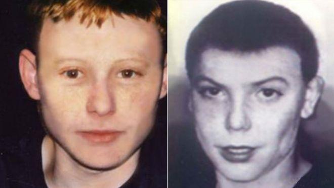 Las fotos de los chicos fueron modificadas digitalmente para suponer cómo se hubieran visto después de unos años. MISSING PEOPLE