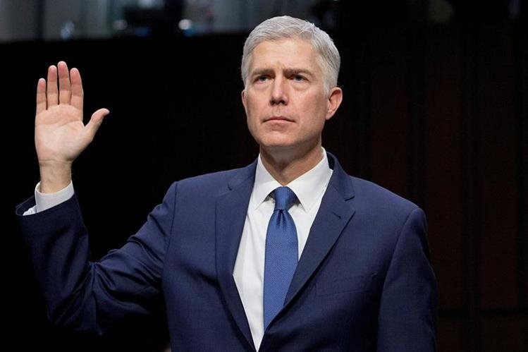 Neil Gorsuch fue aprobado por el senado. (Foto Prensa Libre: AFP)