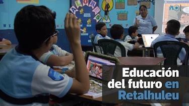 Tecnología trasforma la educación en Retalhuleu