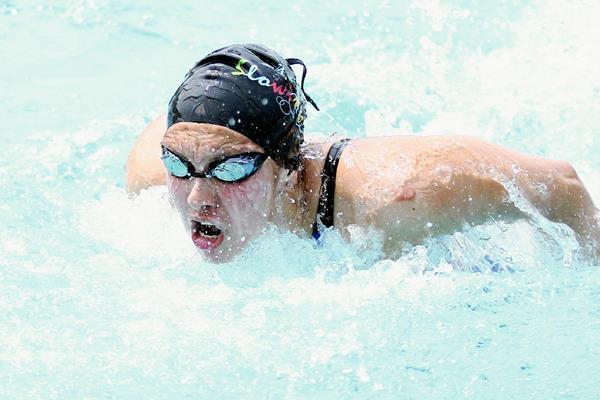Valerie Gruest es una de las nadadores referentes en distancias largas, que representará a Guatemala en el CCCAN 2015. (Foto Prensa Libre: CORTESÍA COG)
