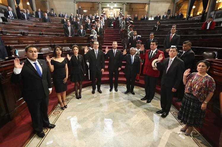Acción Ciudadana presentó un amparo para que la CC ordene repetir la elección de la Junta Directiva del Congreso. (Foto Prensa Libre: Hemeroteca PL)