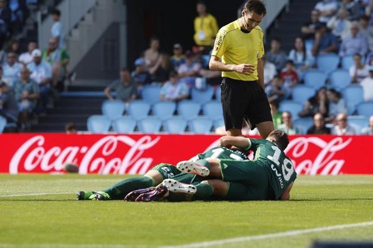 El Betis vence al Celta y se acerca a la permanencia. (Foto Prensa Libre: EFE).
